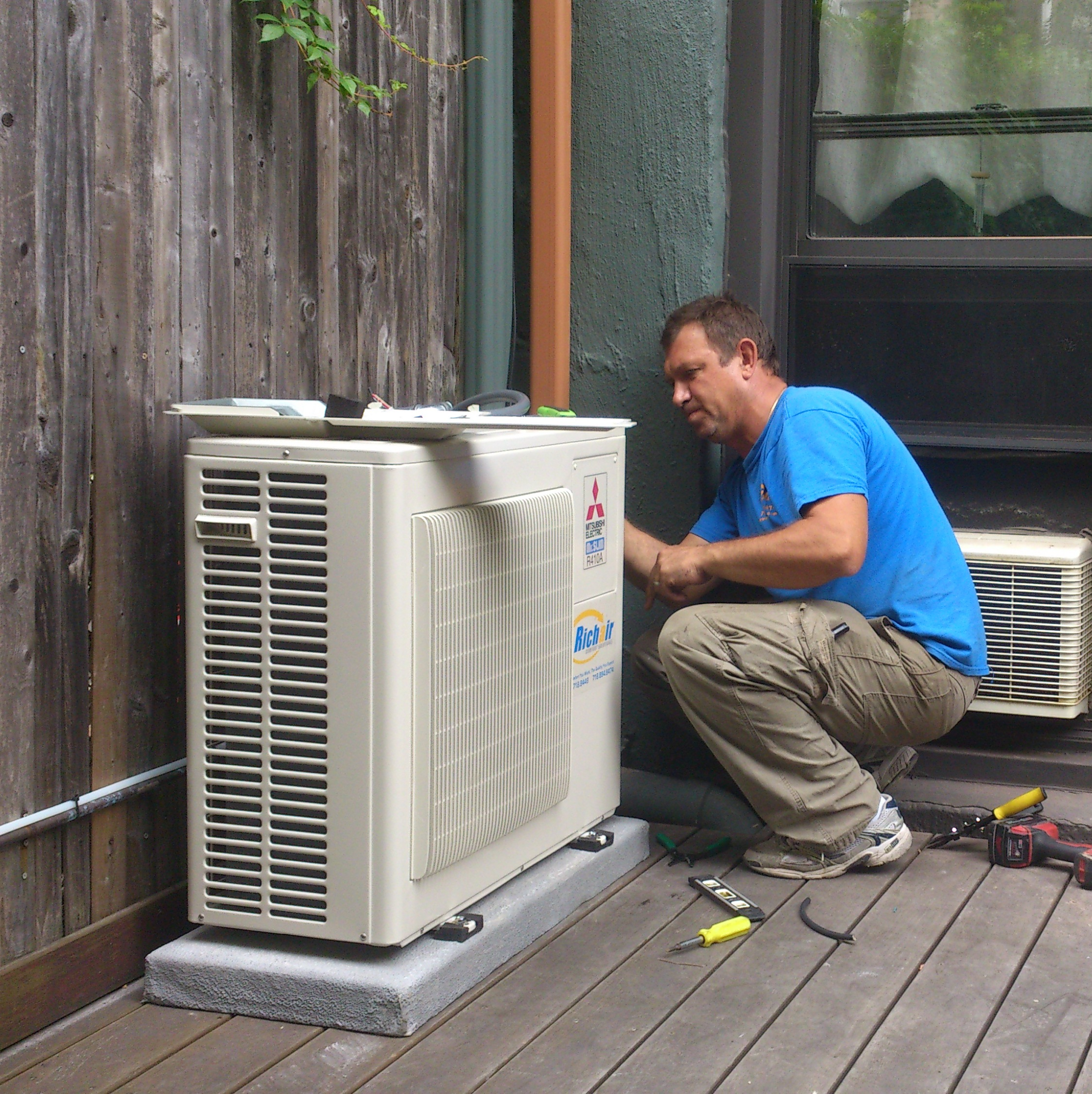 Ductless system commissioning in New York, NY